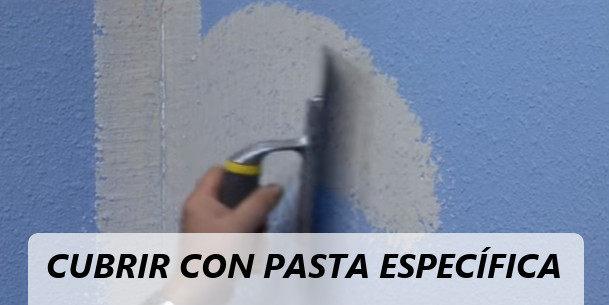 eliminar gotele pared