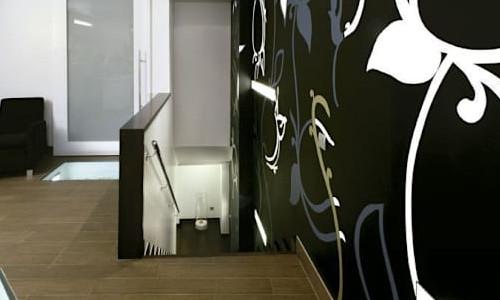 pintar murales blanco y negro
