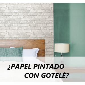Colocar papel pintado sobre gotel f cil for Papel pared autoadhesivo