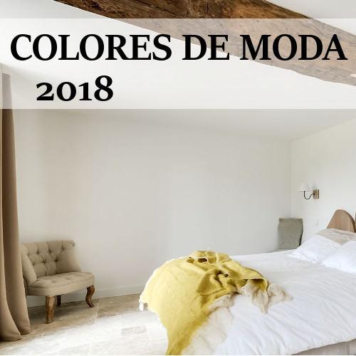 Tendencias Colores de Pintura 2018
